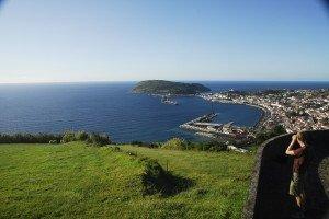 Horta og halvøen Monte Guia
