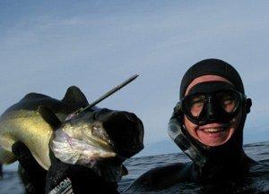 Uvjagt med Micromask - Aqualung Micromask dykkermaske