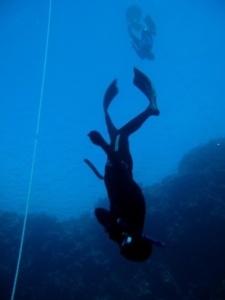 Svømmeføder til fridykning og undervandsjagt