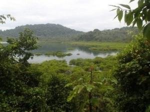 Isla Coiba, landskab foto