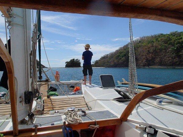 Uv jagt fra sejlbåd