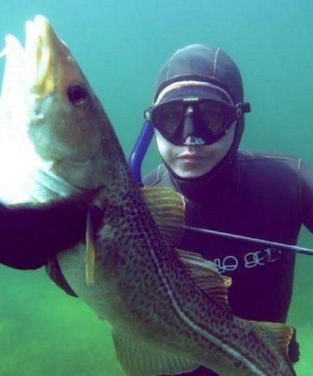kurser i undervandsjagt 450x540 - Udstyr til fridykning