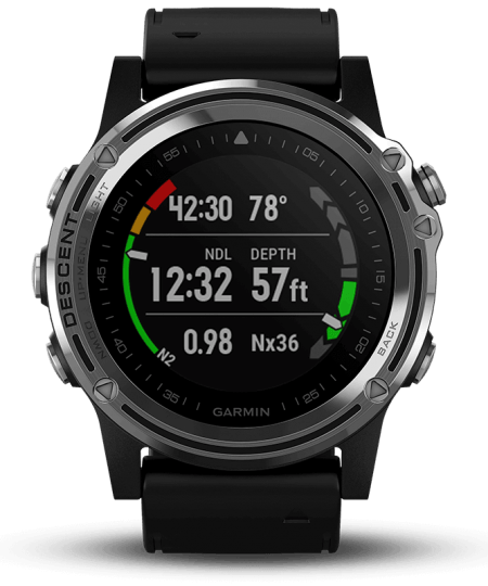 garmin descent product black 01 450x540 - Garmin Descent Mk1 - dykkerur med GPS