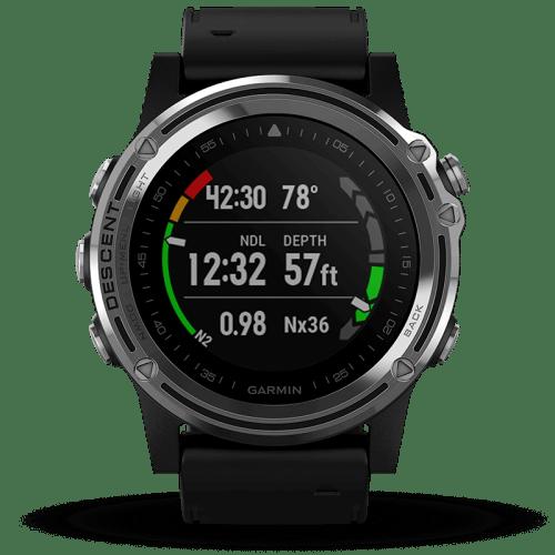 garmin descent product black 01 500x500 - Garmin Descent Mk1 - dykkerur med GPS
