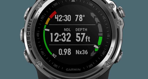 247581501ad Berømte Garmin Descent Mk1 - dykkerur med GPS - Undervandsitetet UK94