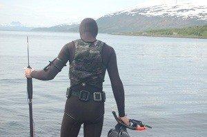 Varm vaaddragt - Våddragt til undervandsjagt