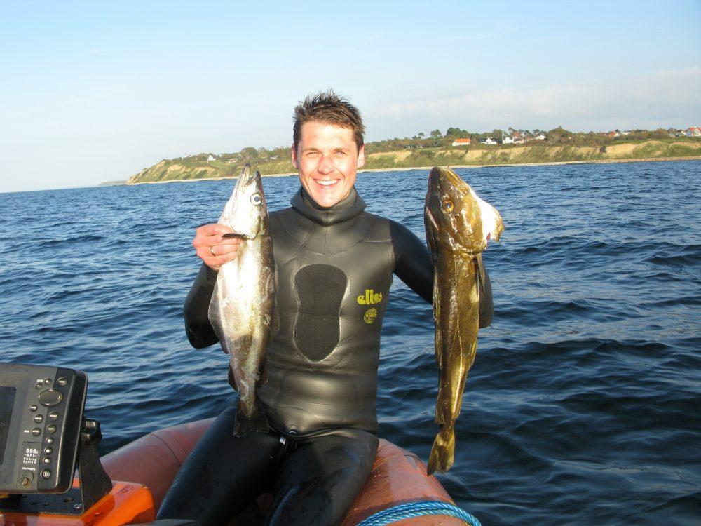 Torsk og lubbe e1543488945440 - Undervandsjagt fra båd - Uvpodcast #38