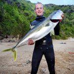 Oliver tristan siefert med en kingfish
