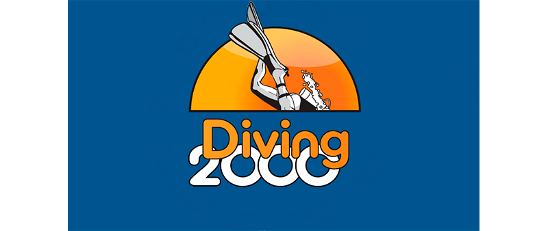 divin 2000 logo - Suunto D4f - dykkerur til fridykning