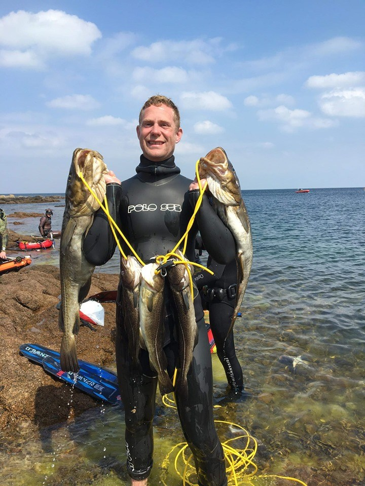 johan med torsk - Undervandsjagt ulykker, lungeskader, reverse block, hajer og fjæsing - 45