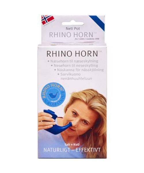 Rihno Horn Næsehorn Blå 500x600 - Rihno Horn Næsehorn Blå