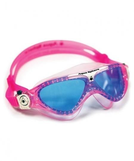 Aqua Sphere Vista Junior Blå linse 450x540 - Dykkerbriller til dykning, svømning og open water