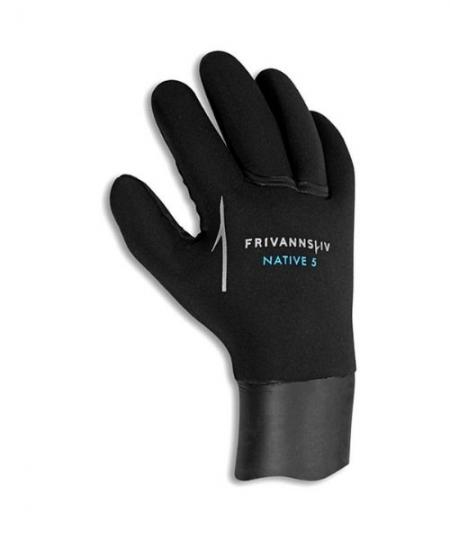 Frivannsliv Native 5mm handsker 450x540 - Frivannsliv Native 5mm dykkerhandsker