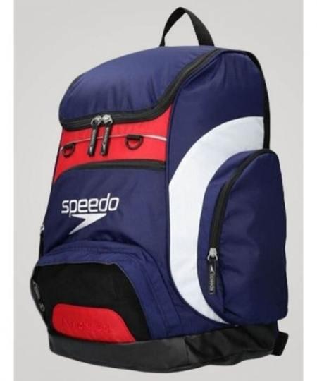 Speedo Teamster Limited 2019 Mørkeblå hvid 450x540 - Svømmetasker