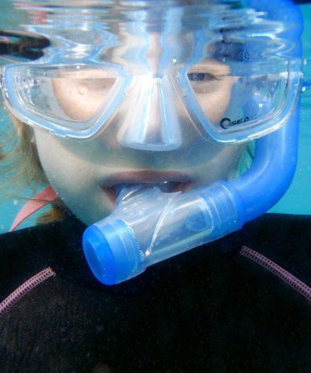 Snorkeludstyr til børn