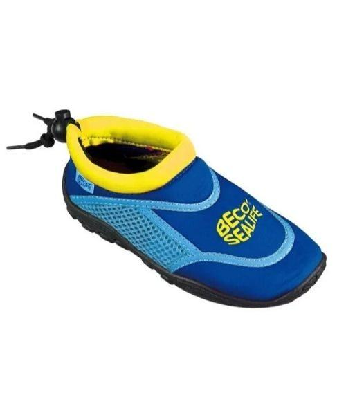 Beco Sealife badesko blå UPF 50 500x600 - Beco-Sealife badesko til børn blå