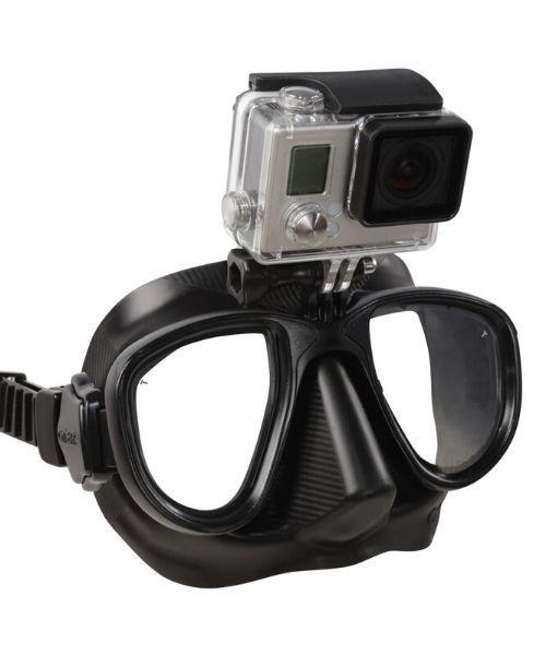 Omer Alien Action maske 500x600 - Omer Alien Action GoPro dykkermaske