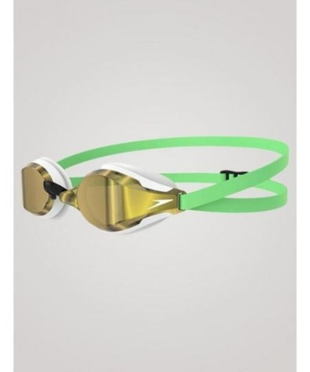Speedo Fastskin Speedsocket 2 Mirror Grøn guld 450x540 - Dykkerbriller til dykning, svømning og open water