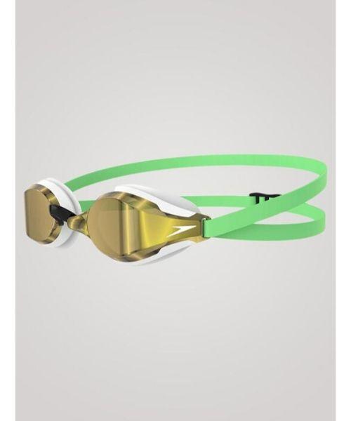 Speedo Fastskin Speedsocket 2 Mirror Grøn guld - Speedo Fastskin Speedsocket 2 Mirror - Grøn/guld