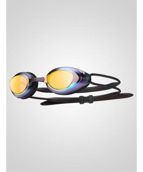 TYR Blackhawk Racing Mirrored Guld - Aqua Sphere Seal XP2 klar linse - Sort/grøn