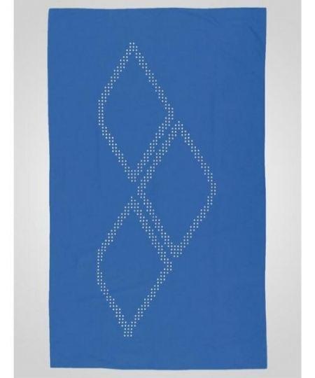 Arena Halo mikrofiber håndklæde Lyseblå 450x540 - Svømmeudstyr