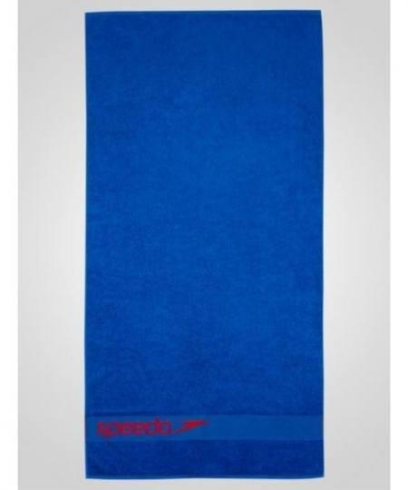 Speedo Border Towel Blå 450x540 - Håndklæder