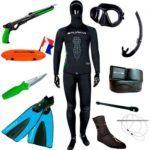 Samlet jagtpakke Budget 150x150 - Omer Abyss maske med styrkeglas
