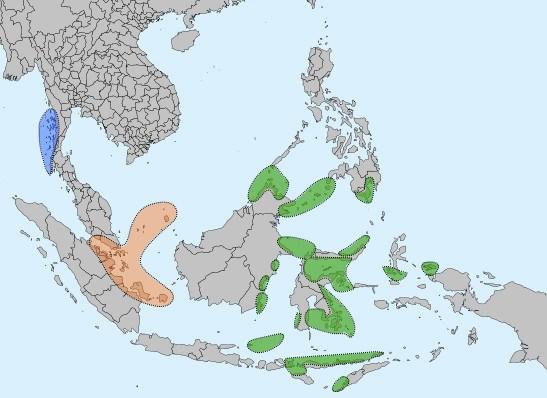 Sea Nomads distribution map - Dykkermasker / dykkermaske