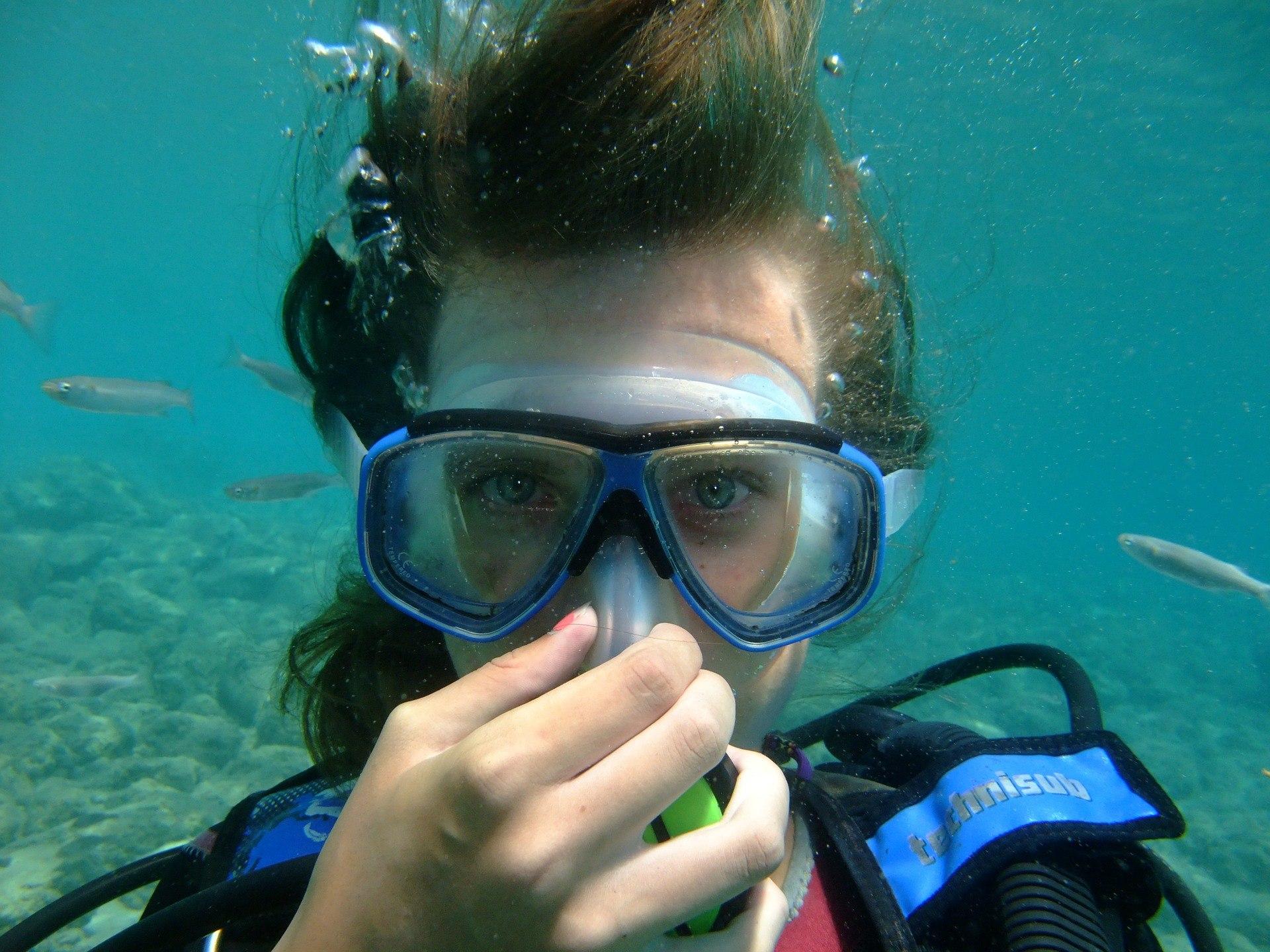 diving 496847 1920 - Zoom EVO maske til dykning