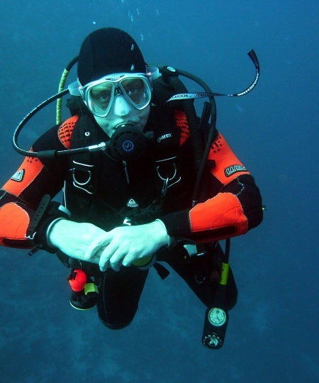 Dykkermaske til scubadykning