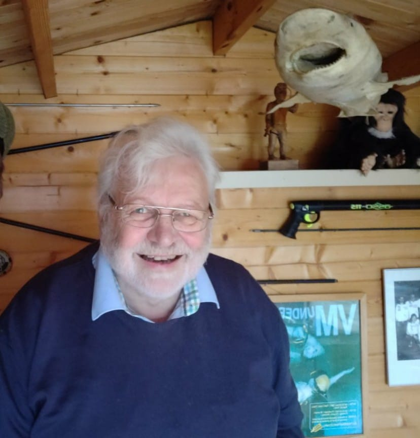 finn hviid - Undervandsjagt for 50 år siden med Finn Hviid - Uvpodcast #52