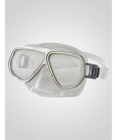 Primotec M100 Vista til Langsynede 1.00 til 4.00 Sølv 450x540 - Dykkermaske og dykkerbriller med styrke