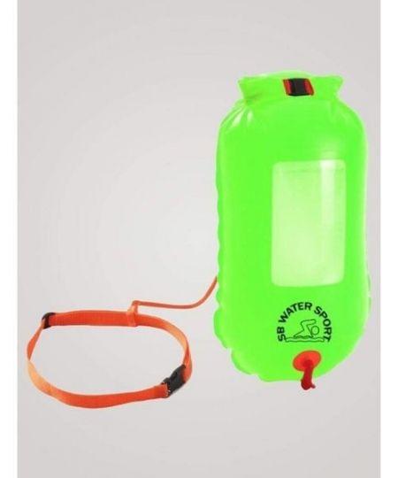 SaferSwimmer Havtaske til åbent vand Grøn 450x540 - SaferSwimmer Havtaske til åbent vand - Grøn