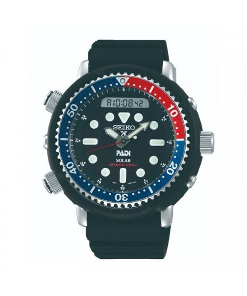 SEIKO Prospex PADI dykkerur med gummirem - SEIKO Prospex PADI dykkerur med gummirem