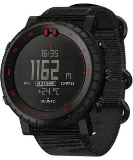 Suunto Core Black Red Outdoorur 450x540 - Suunto - Core Black Red Outdoorur