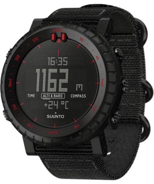 Suunto Core Black Red Outdoorur - Suunto - Core Black Red Outdoorur