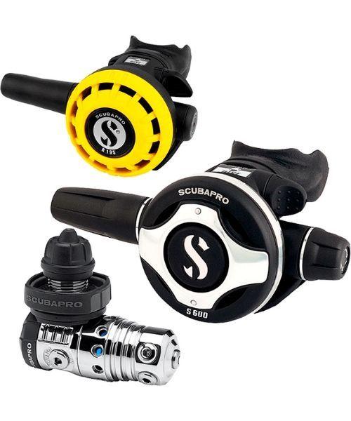 Scubapro MK25 S600 regulatorsæt DIN - Scubapro MK25/S600 regulatorsæt DIN