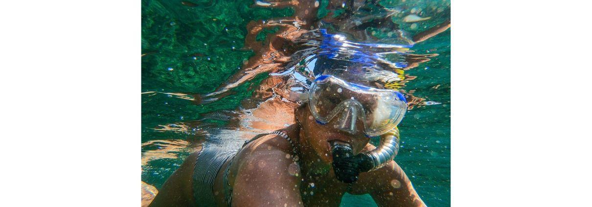 Dykkermaske til snorkling side - Dykkermaske til snorkling