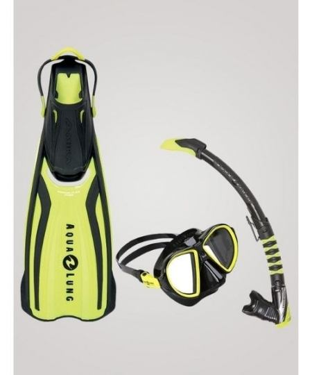 Aqua Lung Set Duetto snorkelsaet til voksne Gul 450x540 - Aqua Lung Set Duetto snorkelsæt til voksne - Gul