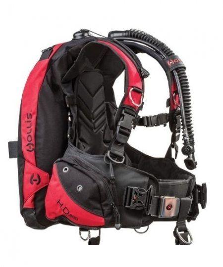 Hollis HD 200 BCD 450x540 - BCD veste til dykning
