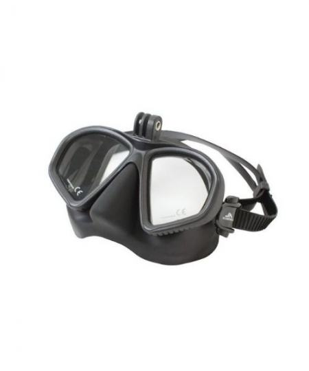 Scorpena M maske med kamera adapter 450x540 - Scorpena M maske, med kamera adapter